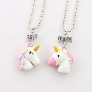 necklace friendship for 2 unicorns price