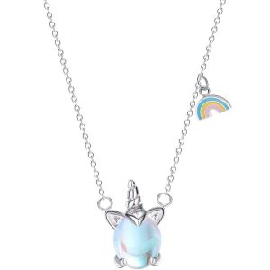 necklace horn unicorn not dear