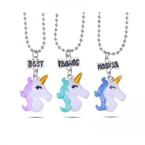 necklace unicorn bff