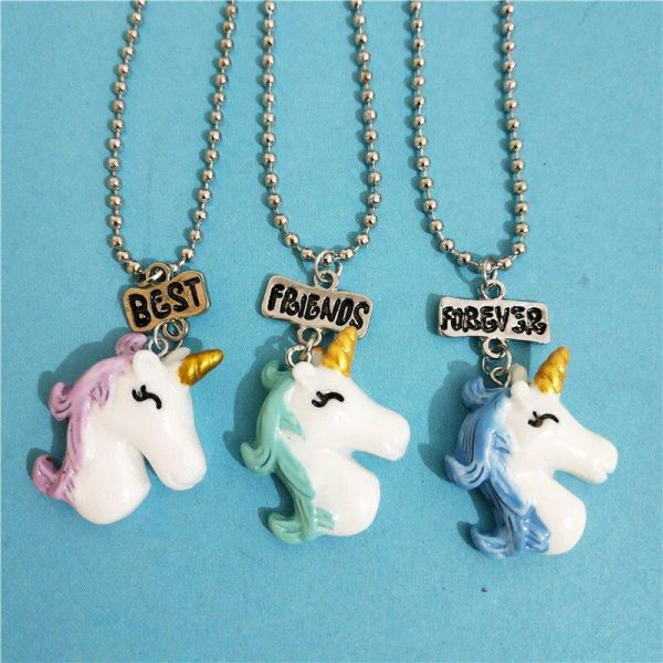 necklace unicorn bff price