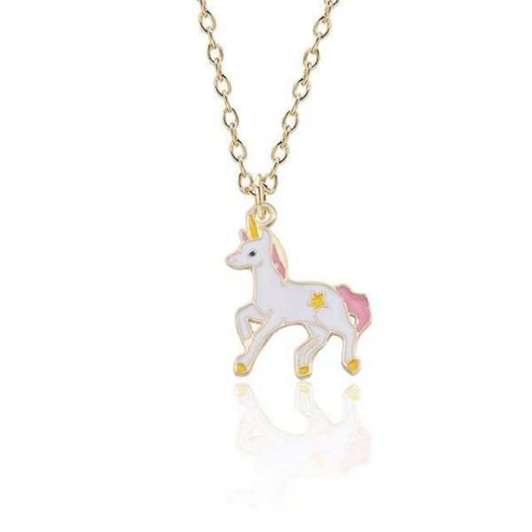 necklace unicorn magic 46 cm adjustable at sell