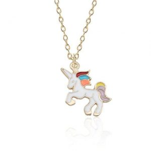 necklace unicorn powerful 46 ​​cm adjustable . price