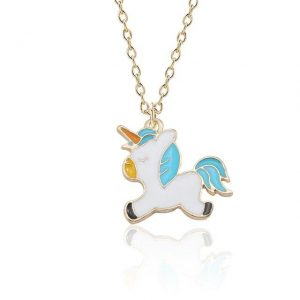 necklace unicorn pure 46 ​​cm adjustable not dear