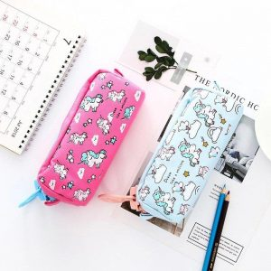 pencil case school unicorn pink supply school unicorn