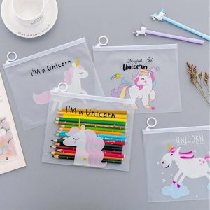 pencil case transparent unicorn unicorn cloud price