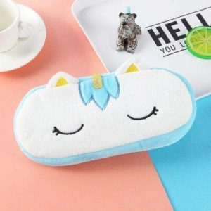 pencil case unicorn blue not dear