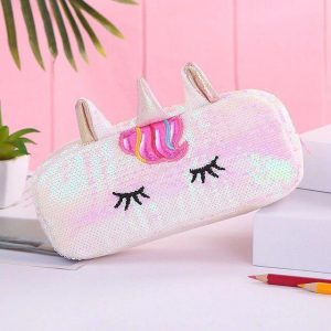 pencil case unicorn glitter unicorn toys store