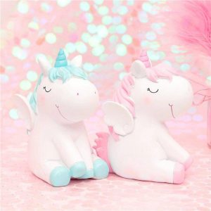 piggy bank unicorn baby pink at sell