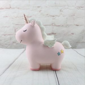 piggy bank unicorn girl not dear