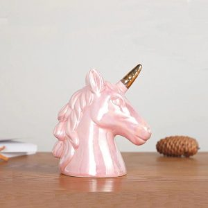 piggy bank unicorn pink at sell