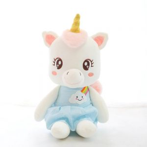 plush unicorn kawaii child 45 cm unicorn toys store