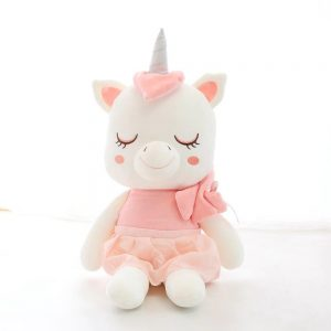 plush unicorn kawaii pink 45 cm better objects unicorn