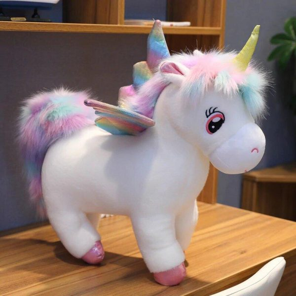 plush unicorn rainbow 75 80 cm unicorn toys store