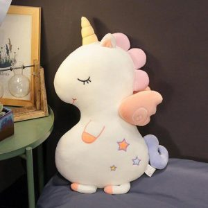 plush unicorn white for to sleep 110 cm at sell