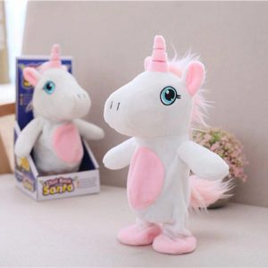 plush unicorn who market and say again 25 cm at sell