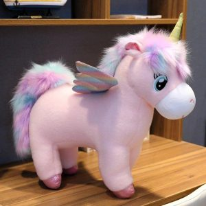 plush unicorn with wings 75 80 cm plush unicorn