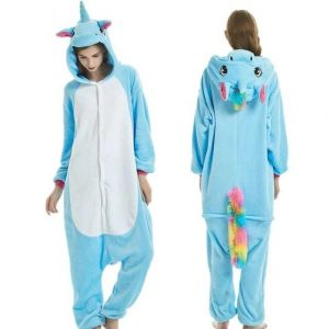 pyjamas combination unicorn blue xl buy