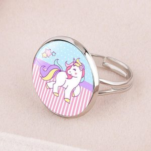 ring unicorn round