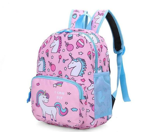 school bag girl cp unicorn not dear
