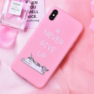 shell unicorn iphone never give up iphone xs max unicorn toys store