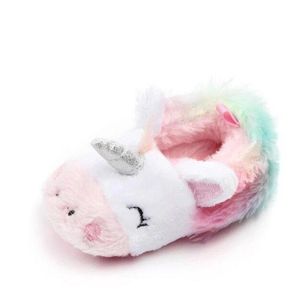 slippers unicorn baby girl 12 to 18 months not dear