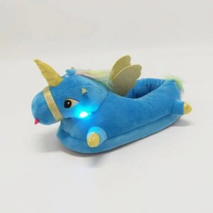 slippers unicorn blue luminous 45 price