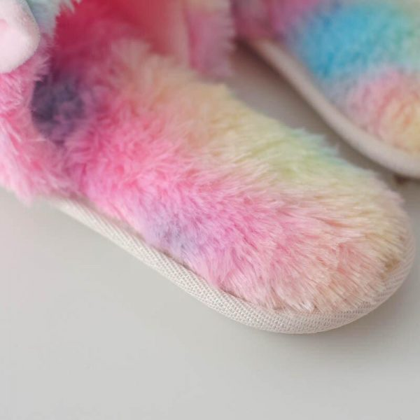 slippers unicorn bow in sky 39 41 unicorn toys store