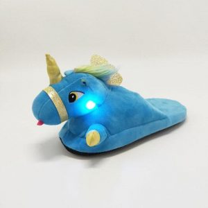 slippers unicorn boy luminous 45