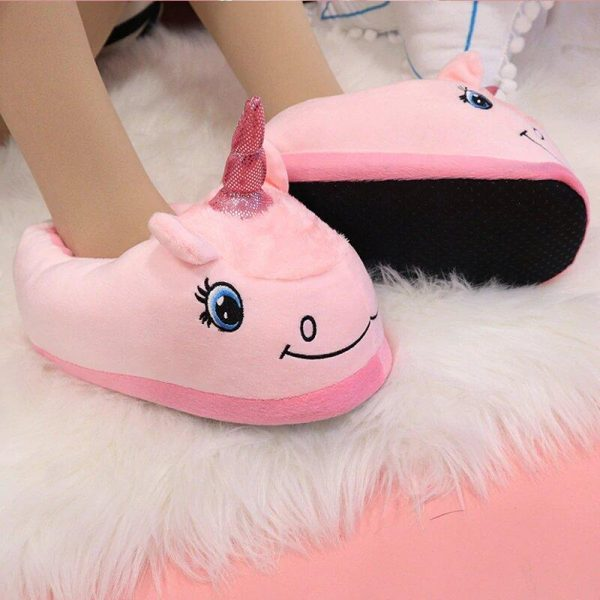 slippers unicorn child pink 45 buy