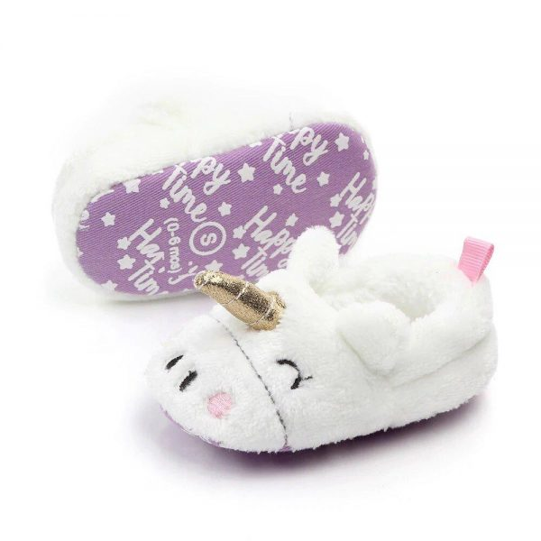 slippers unicorn for baby 12 to 18 months