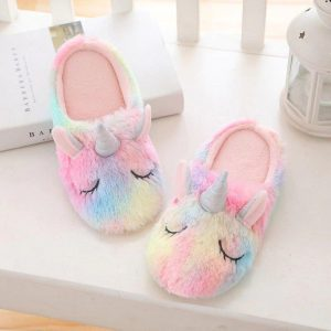slippers unicorn multicolored 49 unicorn toys store