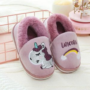 slippers unicorn purple child 26 clothing unicorn