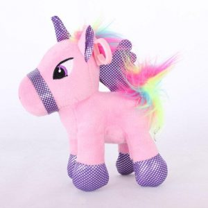 small plush unicorn pink 25 cm buy