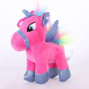 small plush unicorn violet 25 cm plush unicorn