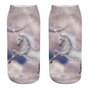 sock unicorn mysterious