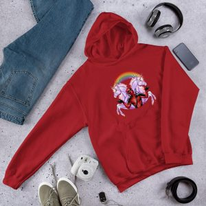 sweat at hood unicorn dead pool 5xl