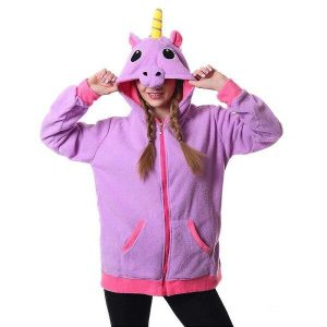 sweat at hood unicorn horn xl at sell