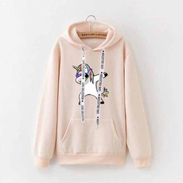sweat beige unicorn dab xxxl not dear