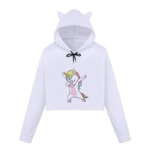 sweat crop top baby unicorn dab xxl buy