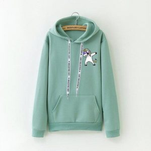 sweat green dab unicorn xxxl