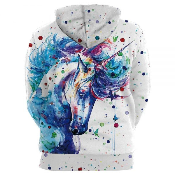 sweat unicorn painting xxl sweat unicorn