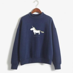 sweater unicorn blue marine run unicorn xxl sweater unicorn