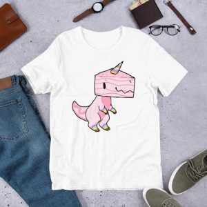 t shirt dinosaur unicorn 3xl not dear