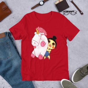 t shirt fluffy the unicorn v2 3xl buy