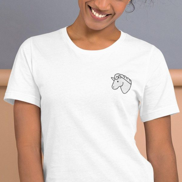 t shirt head unicorn embroidered 3xl buy