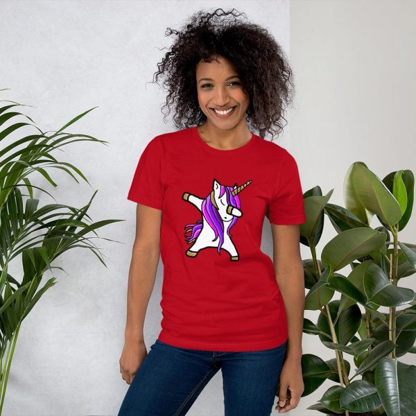 t shirt red unicorn dab 3xl at sell