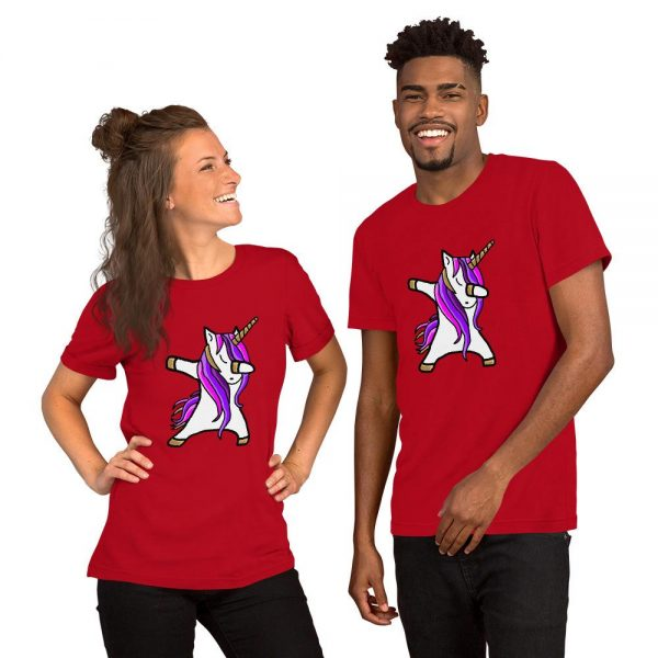 t shirt red unicorn dab 3xl unicorn dab