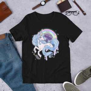 t shirt unicorn gwa v2 3xl not dear