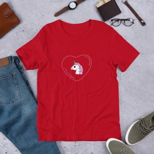 t shirt unicorn heart 3xl buy