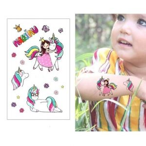 tattoo ephemeral princess unicorn buy